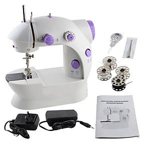 baratos 50% de Desconto Ou Mais-máquina de costura fácil, mini peso leve elétrico da máquina de costura do agregado familiar para feito a mão com o pedal leve