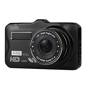 voordelige Auto DVR's-3 inch auto dvrtft lcd hd 1080p geroteerde 170 graden ultra groothoek dual lens dash camera voertuig digitale video recorder camcorder