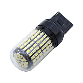 billige Car Signal Lights-SO.K 2pcs T20 Bil Elpærer 8 W SMD 3014 1200 lm 144 LED Blinklys
