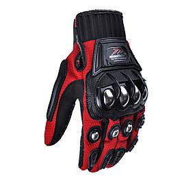Недорогие Мотоциклетные перчатки-Madbike Полный палец Универсальные Мотоцикл перчатки Смешанные материалы Дышащий / Износостойкий / Защитный