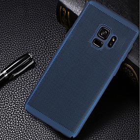 voordelige Galaxy A8 Hoesjes / covers-hoesje Voor Samsung Galaxy A5(2018) / A6 (2018) / A3 (2017) Ultradun Achterkant Effen Hard PC