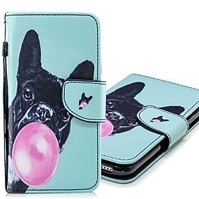 halpa Galaxy S -sarjan kotelot / kuoret-Etui Käyttötarkoitus Samsung Galaxy S9 Plus / S9 Lomapkko / Korttikotelo / Tuella Suojakuori Koira Kova PU-nahka varten S9 / S9 Plus / S8 Plus