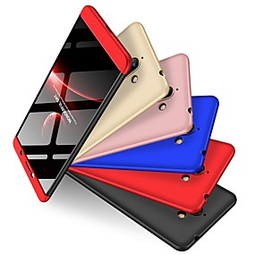 halpa Nokia-Etui Käyttötarkoitus Nokia Nokia 7 Plus Iskunkestävä / Himmeä Takakuori Yhtenäinen Kova PC varten Nokia 7 Plus