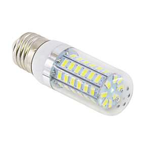 abordables Luces LED de Doble Pin-YWXLIGHT® 1pc 15 W Bombillas LED de Mazorca 1500 lm E14 G9 E26 / E27 T 60 Cuentas LED SMD 5730 Blanco Cálido Blanco Fresco 220 V 110 V / 1 pieza