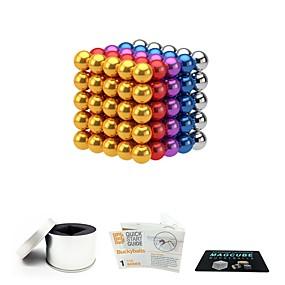olcso Játékok & hobbi-125 pcs 5mm Mágneses játékok mágneses Balls Mágneses játékok Építőkockák Super Strong ritkaföldfémmágnes Neodímium mágnes Mágneses Stressz és szorongás oldására Office Desk Toys Enyhíti ADD, ADHD, a