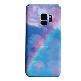 voordelige Galaxy S7 Hoesjes / covers-hoesje Voor Samsung Galaxy S9 / S9 Plus / S8 Plus Mat / Patroon Achterkant Kleurgradatie Hard PC