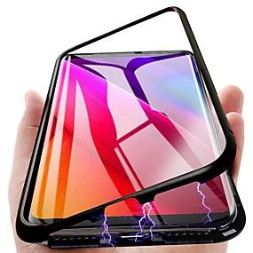 halpa Samsung tarvikkeet-Etui Käyttötarkoitus Samsung Galaxy S9 Plus / S9 Magneetti Takakuori Yhtenäinen Kova Metalli varten S9 / S9 Plus / S8 Plus