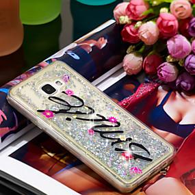 voordelige Galaxy A5(2016) Hoesjes / covers-hoesje Voor Samsung Galaxy A5(2016) Schokbestendig / Glitterglans Achterkant Glitterglans Zacht TPU