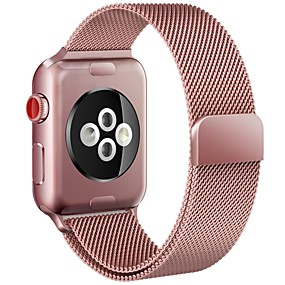billige Apple Watch Series 3/2/1-Urrem for Apple Watch Series 4/3/2/1 Apple Milanesisk rem Metal Håndledsrem