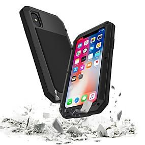 halpa iPhone 5S / SE kotelot-Etui Käyttötarkoitus Apple iPhone 8 / iPhone 7 Vedenkestävä / Iskunkestävä Suojakuori Panssari Kova Metalli varten iPhone XS / iPhone XR / iPhone XS Max