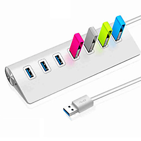 preiswerte USB Hubs & Switches-USB 3.0 to USB 3.0 USB-Hub 7 Häfen High-Speed