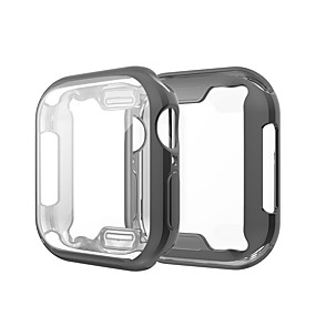 billige Apple-tilbehør-Etui Til Apple Apple Watch Series 4 / Apple Watch Series 4/3/2/1 / Apple Watch Series 3 Silikone Apple