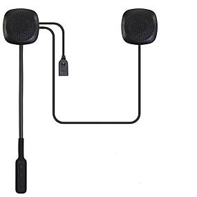 billige Hovedtelefoner Til Hjelme-motorcykel bluetooth 4,2 hjelm headset-intercom kommunikationssystem kitwith øre hængende stil automatisk opkald svarafbryder til motorcykel skiløb
