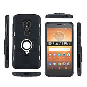 abordables Coques d'iPhone-Coque Pour Motorola Moto G6 Play Antichoc / Etanche à la Poussière / Anneau de Maintien Coque Armure Flexible PC pour Moto Z3 Play / Moto G6 Play / Moto E5 Play
