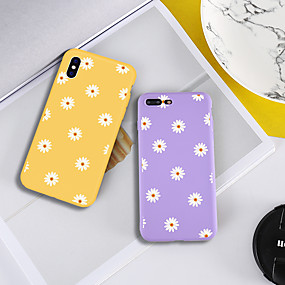 abordables Coques pour iPhone 5S / SE-Coque Pour Apple iPhone XR / iPhone XS Max Motif Coque Plantes / Fleur Flexible TPU pour iPhone XS / iPhone XR / iPhone XS Max
