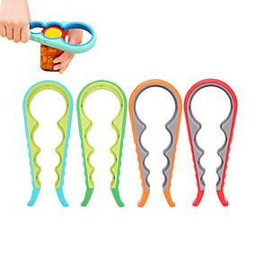 ieftine Ustensile Bucătărie & Gadget-uri-capac de deschidere pentru borcan 4 în 1 deschizător de șurub cu șuruburi la îndemână capse de deschidere cu deschidere multiplă pentru cutii
