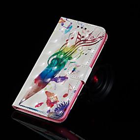 voordelige Galaxy S7 Hoesjes / covers-hoesje Voor Samsung Galaxy S9 / S9 Plus / S8 Plus met standaard / Flip / Patroon Volledig hoesje Woord / tekst Hard PU-nahka