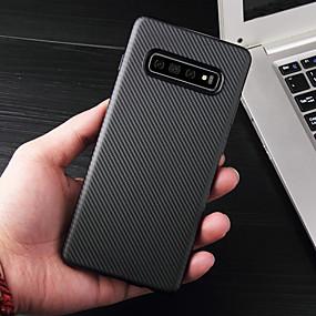 halpa Galaxy S -sarjan kotelot / kuoret-Etui Käyttötarkoitus Samsung Galaxy Galaxy S10 / Galaxy S10 Plus Ultraohut Suojakuori Linjat / aallot Pehmeä TPU varten S9 / S9 Plus / S8 Plus