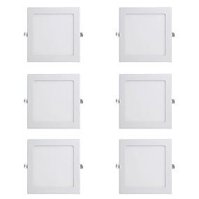 billige Downlights-6stk 15 W 1150 lm 60 LED Perler Let Instalation Forsænket LED nedlys Varm hvid Kold hvid 220-240 V Kommercielt Hjem / kontor Soveværelser