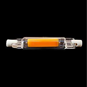 tanie Świetlówki LED-SENCART 1 szt. 4 W Świetlówki 400 lm R7S T 1 Koraliki LED COB Wodoodporny Obrotowa Przygaszanie Ciepła biel Zimna biel 220-240 V