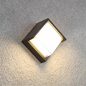 billige Væglamper-ONDENN Vandtæt / Nyt Design LED / Moderne Moderne Væglamper Indendørs / Udendørs Aluminium Væglys IP65 85-265V 10 W