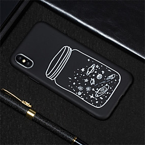 abordables Coques d'iPhone-Coque Pour Apple iPhone XR / iPhone XS Max Dépoli / Motif Coque Ciel Flexible TPU pour iPhone XS / iPhone XR / iPhone XS Max