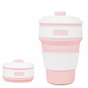 Недорогие Всё для кухни и столовой-складной силиконовый портативный силиконовый телескопический питьевой складной