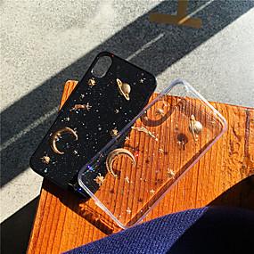 abordables Coques d'iPhone-cas pour apple iphone xr / iphone xs max bricolage / motif / couverture arrière transparente paysages tpu pour iphone x / xs / 6/6 plus / 6s / 6s plus / 7/7 plus / 8/8 plus
