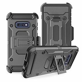 economico Custodie / cover per Galaxy serie S-Custodia Per Samsung Galaxy Galaxy S10 / Galaxy S10 Plus Resistente agli urti Per retro Armatura Resistente TPU / PC per S9 / S9 Plus / S8 Plus