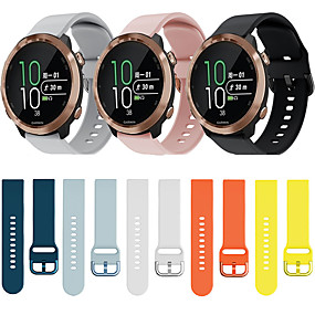 cheap Daily Deals-Watch Band for Vivomove HR / Vivoactive 3 Garmin Sport Band Silicone Wrist Strap
