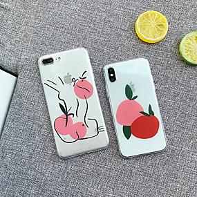 levne iPhone pouzdra-CISIC Carcasă Pro Apple iPhone XR / iPhone XS Max Nárazuvzdorné Zadní kryt Jídlo / Strom Měkké TPU / PC pro iPhone XS / iPhone XR / iPhone XS Max