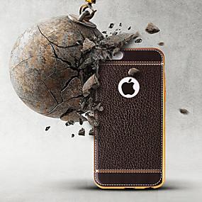 olcso iPhone tokok-Case Kompatibilitás Apple iPhone XS / iPhone XS Max Ütésálló / Vízálló / Galvanizálás Fekete tok Egyszínű Puha TPU mert iPhone XS / iPhone XR / iPhone XS Max