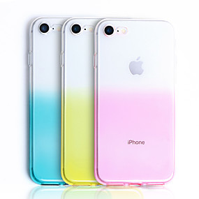 abordables Coques d'iPhone-CISIC Coque Pour Apple iPhone XR / iPhone XS Max Antichoc / Etanche Coque Dégradé de Couleur Flexible TPU pour iPhone XS / iPhone XR / iPhone XS Max
