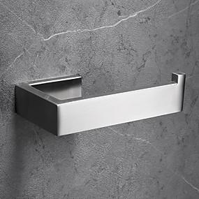 billige Hjem & Køkken-Toiletrulleholder Nyt Design / Kreativ Moderne Rustfrit Stål / Rustfrit stål / Metal 1pc - Badeværelse Vægmonteret