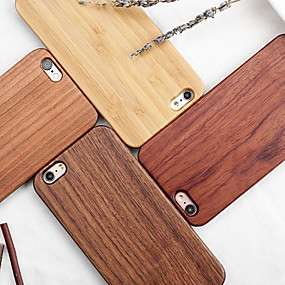 abordables Coques d'iPhone-Coque Pour Apple iPhone X / iPhone XS Max Motif Coque Apparence Bois Dur En bois / PC pour iPhone XS / iPhone XR / iPhone XS Max