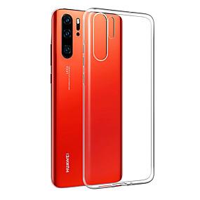 voordelige Dagaanbiedingen-hoesje Voor Huawei Huawei P30 Pro / Huawei P30 Lite Schokbestendig / Ultradun Achterkant Transparant Zacht TPU voor Huawei P20 / Huawei P20 Pro / Huawei P20 lite