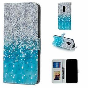 voordelige Galaxy S7 Edge Hoesjes / covers-hoesje Voor Samsung Galaxy S9 / S9 Plus / S8 Plus Portemonnee / Kaarthouder / met standaard Volledig hoesje Landschap Hard PU-nahka