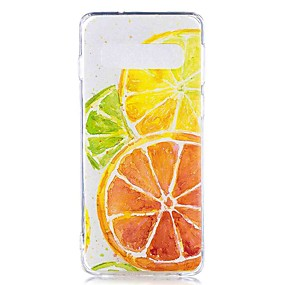 voordelige Galaxy S7 Hoesjes / covers-hoesje Voor Samsung Galaxy S9 / S9 Plus / S8 Plus Transparant / Patroon Achterkant Voedsel Zacht TPU