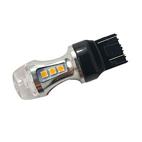 billige Car Signal Lights-1 stk. Krystal model honda / mazda 18w w21 / 5w baglygte signallys civilsving signal lampe 7443 amber