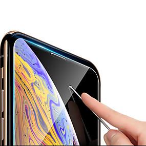 abordables Protections Ecran pour iPhone XR-CISIC Protecteur d'écran pour Apple iPhone XS / iPhone XR / iPhone XS Max Verre Trempé 1 pièce Ecran de Protection Avant Haute Définition (HD) / Dureté 9H / Antidéflagrant
