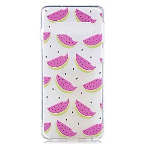 voordelige Galaxy S7 Edge Hoesjes / covers-hoesje Voor Samsung Galaxy S9 / S9 Plus / S8 Plus Transparant / Patroon Achterkant Voedsel Zacht TPU