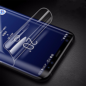 preiswerte Angebote des Tages-neuer 8d hydrogel film für samsung galaxys10 plus s10 e displayschutzfolie für samsung s9 s10 s9 plus s8 s8 plus cover