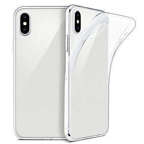 ราคาถูก เคสสำหรับ iPhone-Case สำหรับ iphone xs max xs บางใสนุ่ม tpu ปกสนับสนุนไร้สายชาร์จสำหรับ iphone xr 8 พลัส 8 7 พลัส 7 6 บวก 6