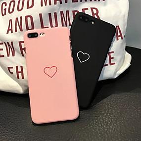 levne iPhone pouzdra-Carcasă Pro Apple iPhone XS Max / iPhone 6 Matné / Vzor Zadní kryt Srdce Pevné PC pro iPhone XS / iPhone XR / iPhone XS Max