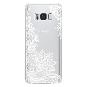 voordelige Galaxy J5 Hoesjes / covers-hoesje Voor Samsung Galaxy J7 (2017) / J7 / J5 (2017) Schokbestendig / Stofbestendig Achterkant Bloem Zacht TPU