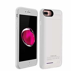 Недорогие Панели с батареями для iPhone-3000 mAh Назначение Внешняя батарея Power Bank 5 V Назначение Назначение Зарядное устройство Кейс со встроенной батареей для iPhone LED