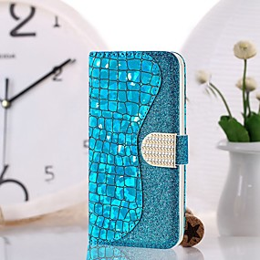 voordelige Galaxy S7 Edge Hoesjes / covers-hoesje Voor Samsung Galaxy S9 / S9 Plus / S8 Plus Portemonnee / Kaarthouder / Schokbestendig Volledig hoesje Schild Hard PU-nahka