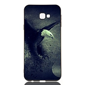 voordelige Galaxy J3(2017) Hoesjes / covers-hoesje voor Samsung Galaxy J730 / J6 (2018) / J530 Schokbestendig / Mat / Patroon Achterkant Animal TPU Soft voor Galaxy J330 / J6 Plus / J4 Plus / J4 2018 / M10 / M20 / M30 / J310 / J510 / J3 / J2