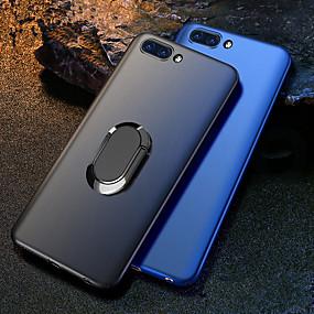 voordelige Huawei Honor hoesjes / covers-hoesje Voor Huawei Huawei Honor 10 / Honor 10 Lite / Eer V20 Schokbestendig / met standaard / Ringhouder Achterkant Effen Hard PC / Metaal