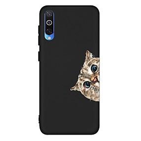 voordelige Galaxy A5(2016) Hoesjes / covers-hoesje voor Samsung Galaxy A6 (2018) / A6 Plus / A7 (2018) Schokbestendig / Mat / Patroon Achterkant Kat TPU Soft voor Galaxy A10 / A20 / A30 / A20E / A40 / A50 / A70 / A80 / A8 2018 / A9 2018 / a5
